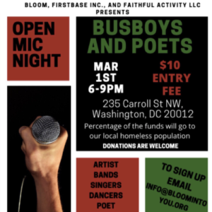 Black History, Our History!!!! Open Mic Event