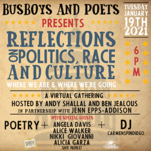 Reflections on Politics, Race and Culture: Where We Are & Where We're Going