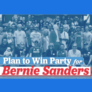 Brunch for Bernie, a Bernie 2020 Plan to Win Party