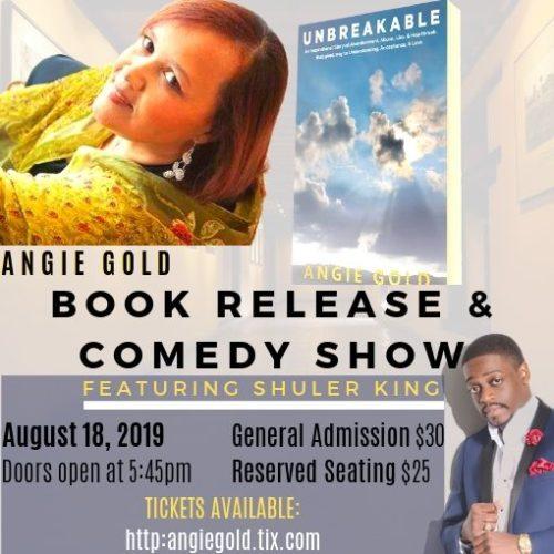PRIVATE EVENT: book release/comedy show
