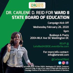 Let's Reid 2020 Campaign