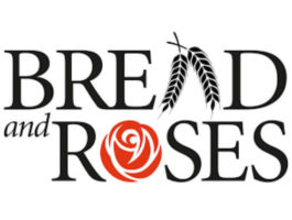 Bread and Roses Labor Series Logo at Busboys and Poets