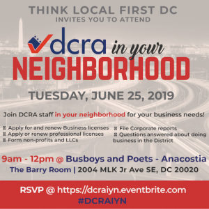 DCRA in your Neighborhood