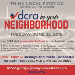 DCRA in your Neighborhood
