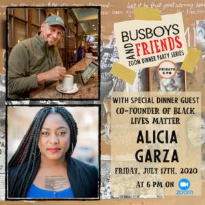 Alicia Garza: Busboys and Friends! Zoom Dinner