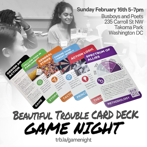 Beautiful Trouble Strategy Deck Game Night