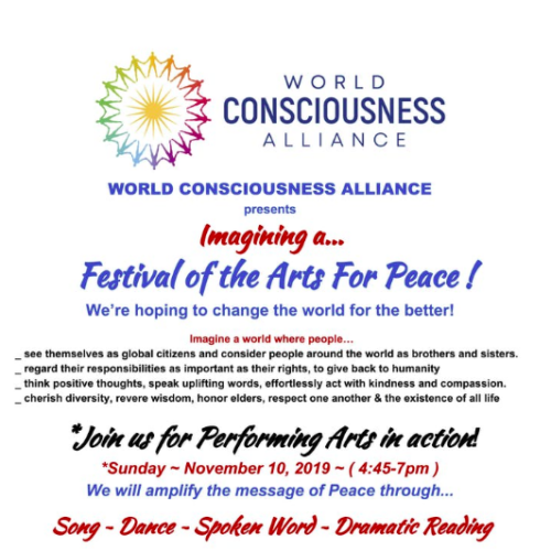 Festival of the Arts For Peace!