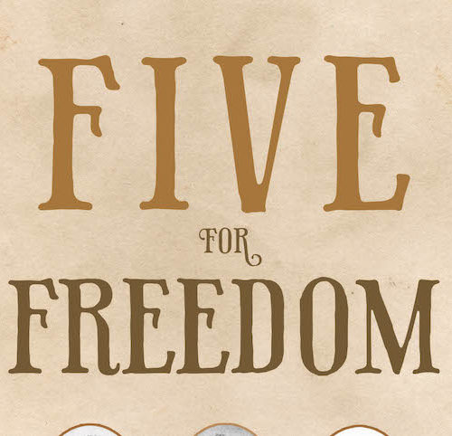 Five for Freedom with Busboys and Poets Books