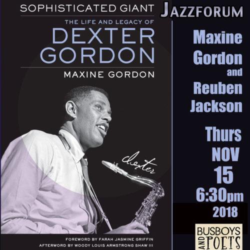 Book Event with Maxine Gordon