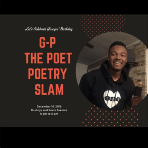 G-P The Poet Poetry Slam