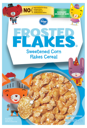 Signature Kitchens Cereal Frosted Flakes - 15 Oz