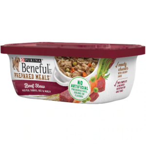Beneful Prepared Meals Dog Food Simmered Beef Entree Can - 10 Oz