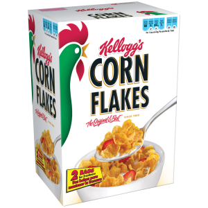 Kellogg's Corn Flakes Breakfast Cereal  Original  18 Oz