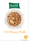 Kashi  Breakfast Cereal  7 Whole Grain Honey Puffs  Non-GMO Project Verified  9.3 oz