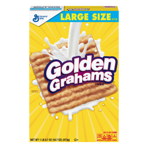 Golden Grahams  Breakfast Cereal  Large Size  16.7 oz Box