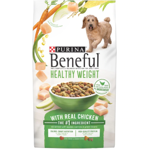 Purina Beneful Healthy Weight Dog Food with Real Chicken 15.5 lb