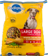 PEDIGREE Dog Food Dry For Adult Complete Nutrition Roasted Chicken Rice & Vegetable Bag - 20.4 Lb