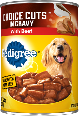 Pedigree Choice Cuts in Gravy with Beef