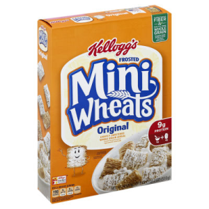 Mini Wheats Cereal Frosted Original - 18 Oz
