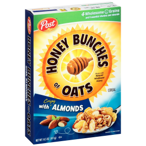 Post Honey Bunches of Oats Cereal with Almonds 14.5oz