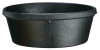 Fortex/Fortiflex CR-40 General Purpose Feed Pan  4 qt Capacity  11 in Dia 4 in H