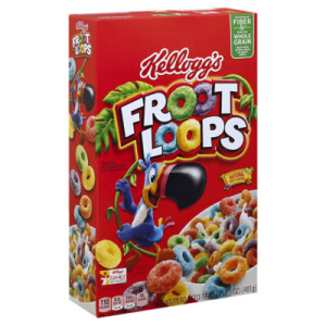 Froot Loops Cereal - 17 Oz