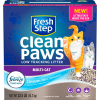 Fresh Step Clean Paws Multi-Cat Low Tracking Litter with Febreze Freshness 22.5 lb
