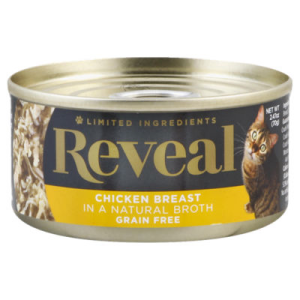 Reveal Cat Food Grain Free Chicken Breast In A Natural Broth Can - 2.47 Oz