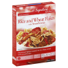 Signature Kitchens Rice and Wheat Flakes with Strawberries - 11.2 Oz