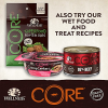 Wellness CORE Natural Dry Grain Free Small Breed Dog Food  Turkey & Chicken  4-Pound Bag