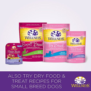 Wellness Petite Entrees Casserole Natural Grain Free Wet Small Breed Dog Food  Tender Chicken  3-Ounce Cup