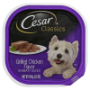 Cesar Classics Canine Cuisine In Meaty Juices Grilled Chicken Flavor Tub - 3.5 Oz