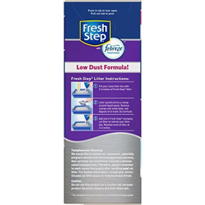 Fresh Step Multi-Cat With Febreze  Odor Shield  14 lbs