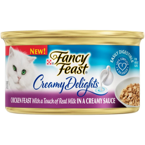 Fancy Feast Creamy Delights Grilled Chicken With Real Milk 3 OZ