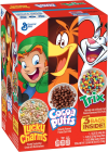 General Mills Triple Club Pack Cereal Lucky Charms Coca Puff Trix