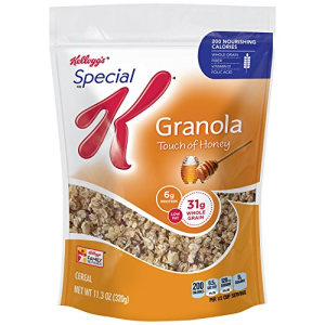 Special K Granola Cereal Touch of Honey  11.3 oz