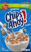 Post Chips Ahoy Breakfast Cereal  Chocolate Chip  19 Oz