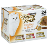 Fancy Feast Cat Food Gourmet Classic Pate Collection Poultry & Beef 3 Flavors 8 Each - 24-3 Oz