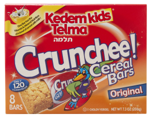 Kedem Bar Cereal Crunchee Or