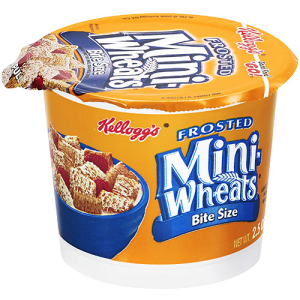 Kellogg's Frosted Mini-Wheats Cereal-in-a-Cup  12 pk