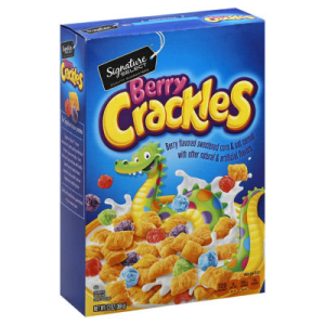 Signature Select Cereal Berry Crackles - 13 Oz