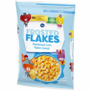 Kroger Frosted Flakes Cereal 28 oz