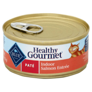 Blue Healthy Gourmet Cat Food Pate Indoor Salmon Entree Can - 5.5 Oz