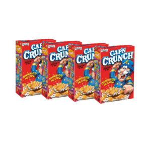 Cap'N Crunch Cereal  20 oz Boxes  4 Count