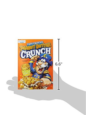 Cap'N Crunch Cereal  Peanut Butter Crunch  12.5oz