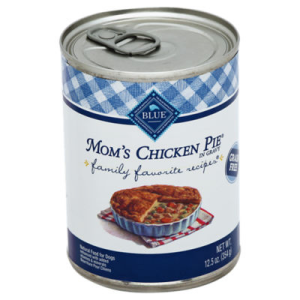 Blue Dog Food Family Favorite Recipes Moms Chicken Pie Can - 12.5 Oz