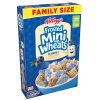 (2 Pack) Kellogg's Frosted Mini Wheats Cereal  Blueberry  21 Oz