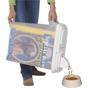 "Buddeez 32qt ""Bag-In"" Pet Food Dispenser  Holds Up To 22 lbs"