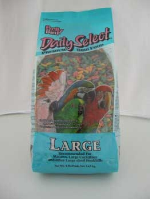 Pretty Bird Daily Select Premium Extruded Bird Food  Large  8 lb