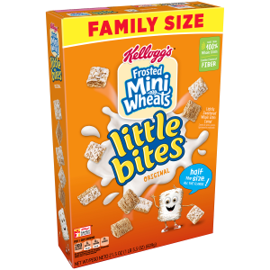 Kellogg's Mini Wheats Original Little Bites Breakfast Cereal 21.5 Oz.
